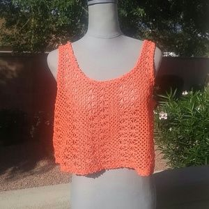Crochet Lace Crop Top